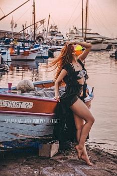 Playboy model Avrora